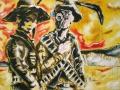 Blutsbrüder 2007 · Acryl/ÖL auf Leinwand · 120x170 cm