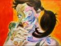 Candy Crusher 2010 · Acryl auf Leinwand · 30x42 cm