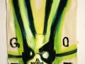 G_O_T_T 2016 · Acryl auf Leinwand · 87x63 cm