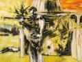 Tag der Vergeltung 2007 · Acryl/ÖL auf Leinwand · 120x175 cm