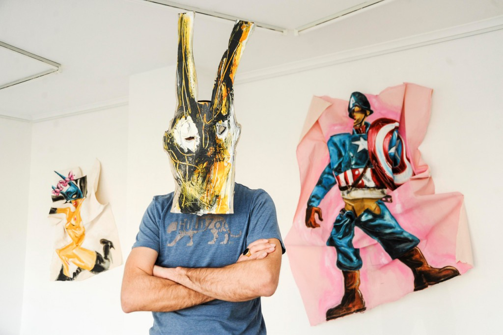 GOTT GORDAN in der Auf Galerie 2014 (Foto: Alexandra Roth)