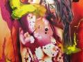 Portrait of a Dragon 2019· Acryl auf Leinwand · 100x80 cm