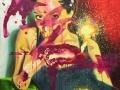 Hidden Heart 2019 · Acryl auf Leinwand · 100x80 cm