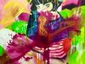 Holy Ghost 2019 · Acryl auf Leinwand · 100x80 cm