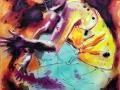 RISE 2019 · Acryl auf Leinwand · 140x110 cm