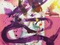 Silence 2019 · Acryl auf Leinwand · 100x80 cm