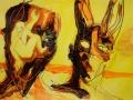 Dawn 2009 · Acryl auf Leinwand · 30x42 cm