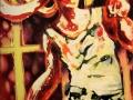 Fight 2013 · Acryl auf Leinwand · 130x100 cm