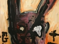 GO_TT 2016 · Acryl auf Leinwand · 50x42 cm