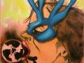 Der Herr ist mein Hirte 2016 · Acryl auf Leinwand · 84x60 cm