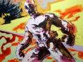 Maximus 2011 · Acryl auf Leinwand · 120x170 cm