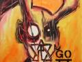 M ( Maximus) 2016 · Acryl auf Leinwand · 84x60 cm